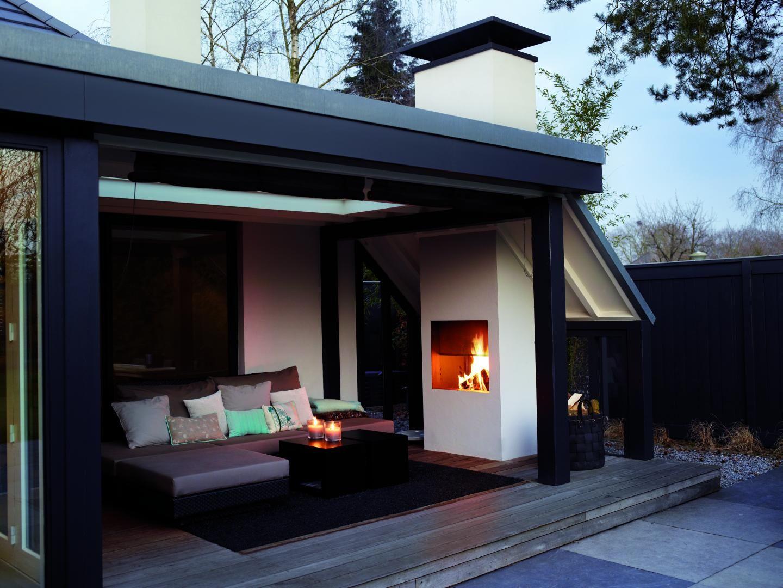 Buitenhaarden van boley aangenaam genieten buitenhaard veranda