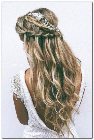 Wedding Hairstyles Half Up And Half Down 91 Peinados Artisticos