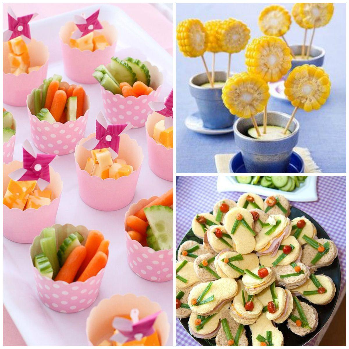 Fabuloso Virou febre: cardápio saudável para festas infantis | Cardapio  OG35