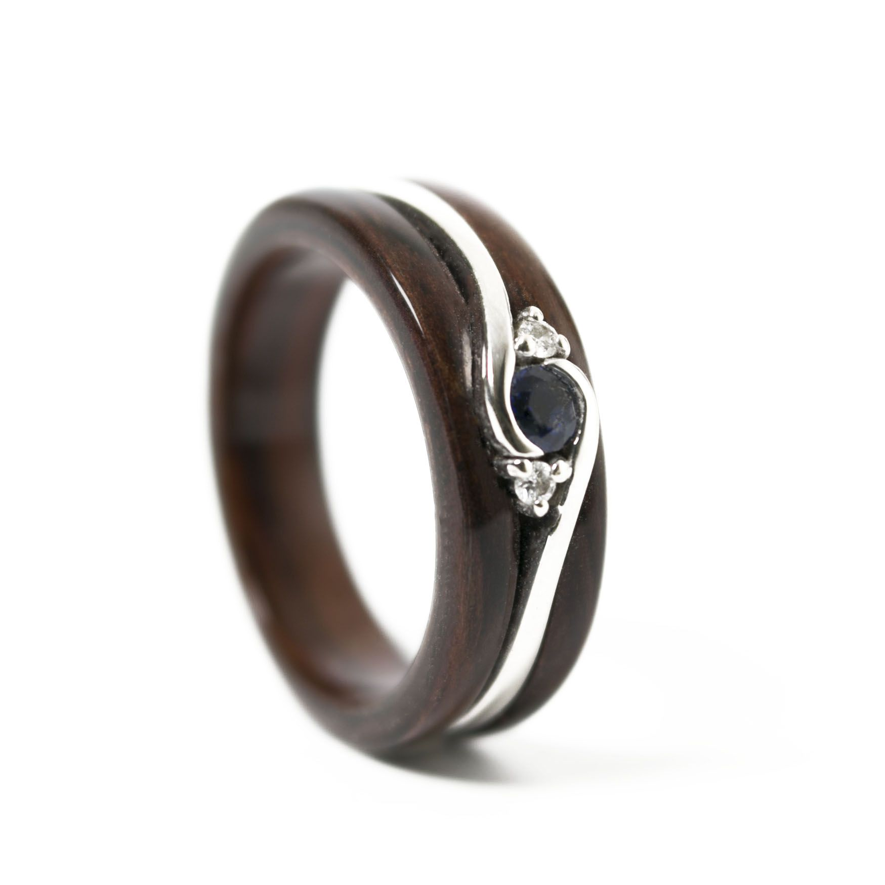 Unity Engagement Ring Vintage Love Wood And Metal Wedding Ring Woodengagementring Wooden Rings Engagement Cool Wedding Rings Womens Engagement Rings