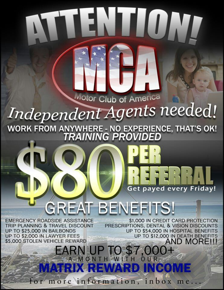 Only $40 to start and $20 a month & $80 per sign-up and so