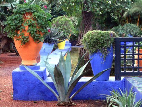 Jede Ecke Im Jardin Majorelle Ist Eine Marokko Reise Wert Marokko Rundreise Reisen Rundreise