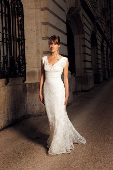Cymbeline Brautkleid Elfenbein in Größe 38 für 900€ auf Wunsch ...