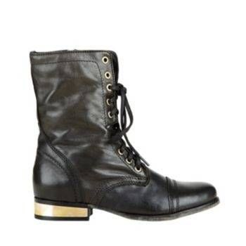 #TROOPALE BLACK GOLD women's bootie flat casual - Steve Madden. Steve  Madden BootsWomen's BootsShoe BootsBoot HeelsCombat ...