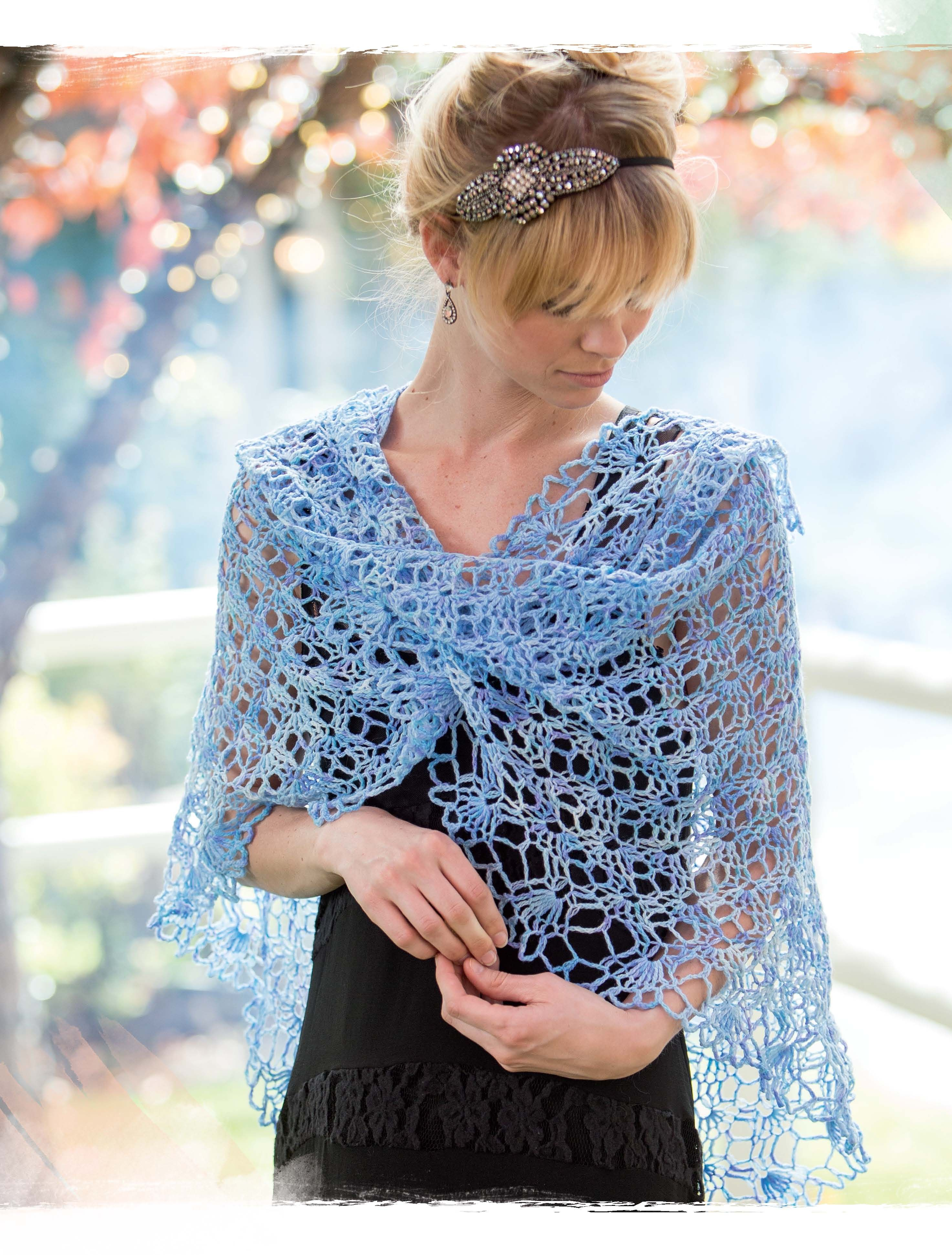 Skylark crochet shawl shawl and crochet as an everyday accessory this crochet shawl can be worn belted at the waist or bankloansurffo Image collections