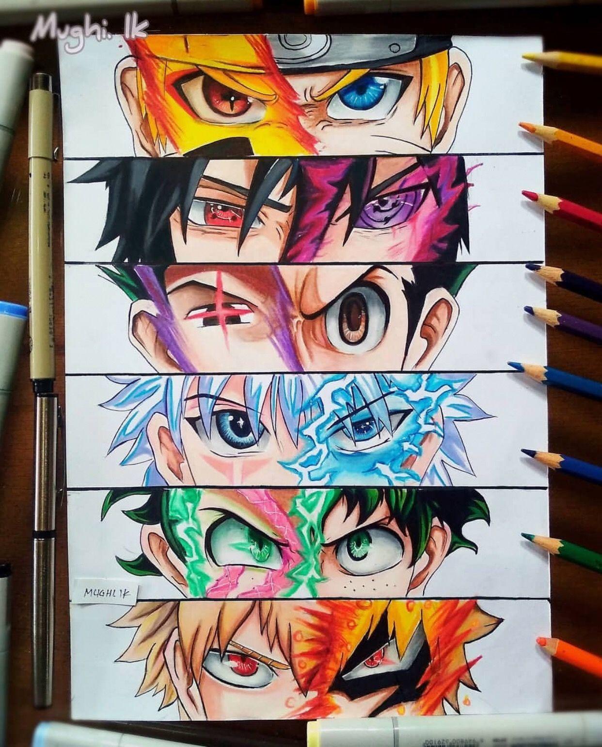 378 Gambar Anime Art Terbaik Di 2020