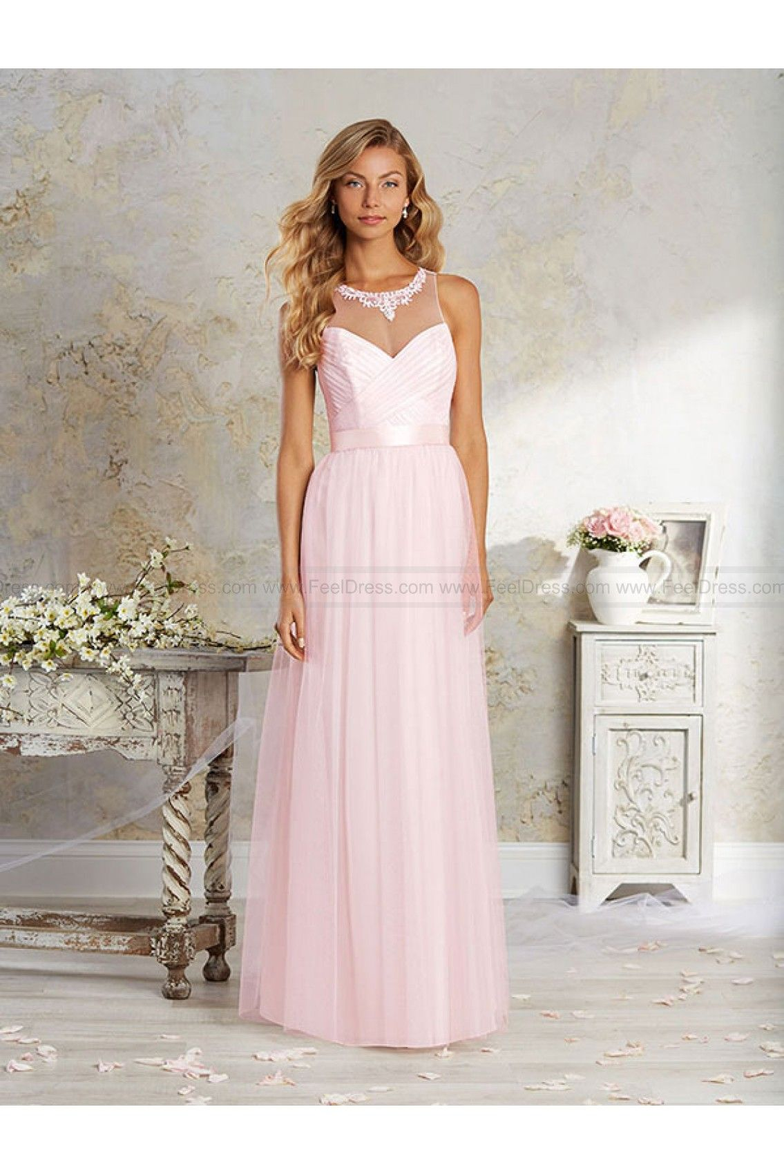 Cinderella wedding dress alfred angelo  Alfred Angelo Bridesmaid Dress Style L New  wedding