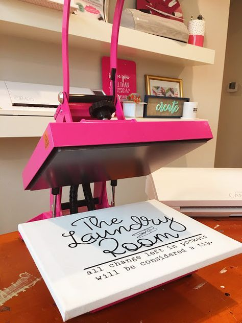 5 Reasons the Pink Heat Press Might Be Perfect for Crafters! #craftprojects