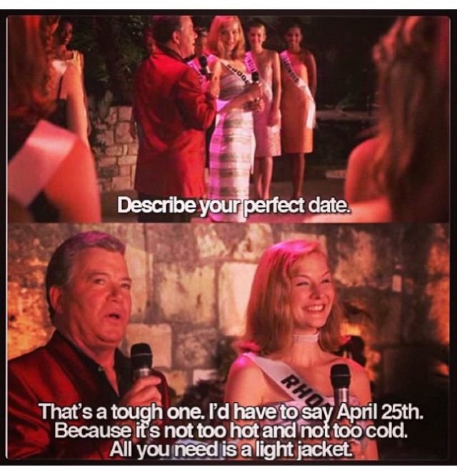 miss congeniality april 25th quote