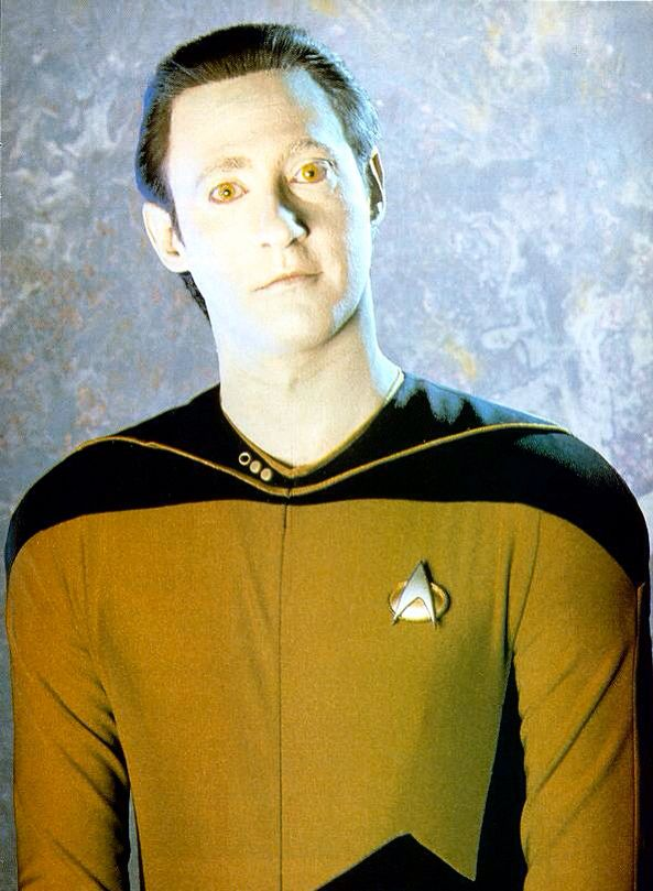 He will always be my favorite character from Star Trek. #loveData