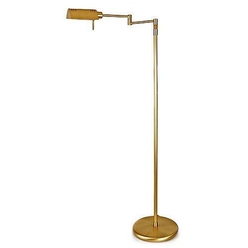 Holtkoetter halogen pharmacy floor lamp gracious home