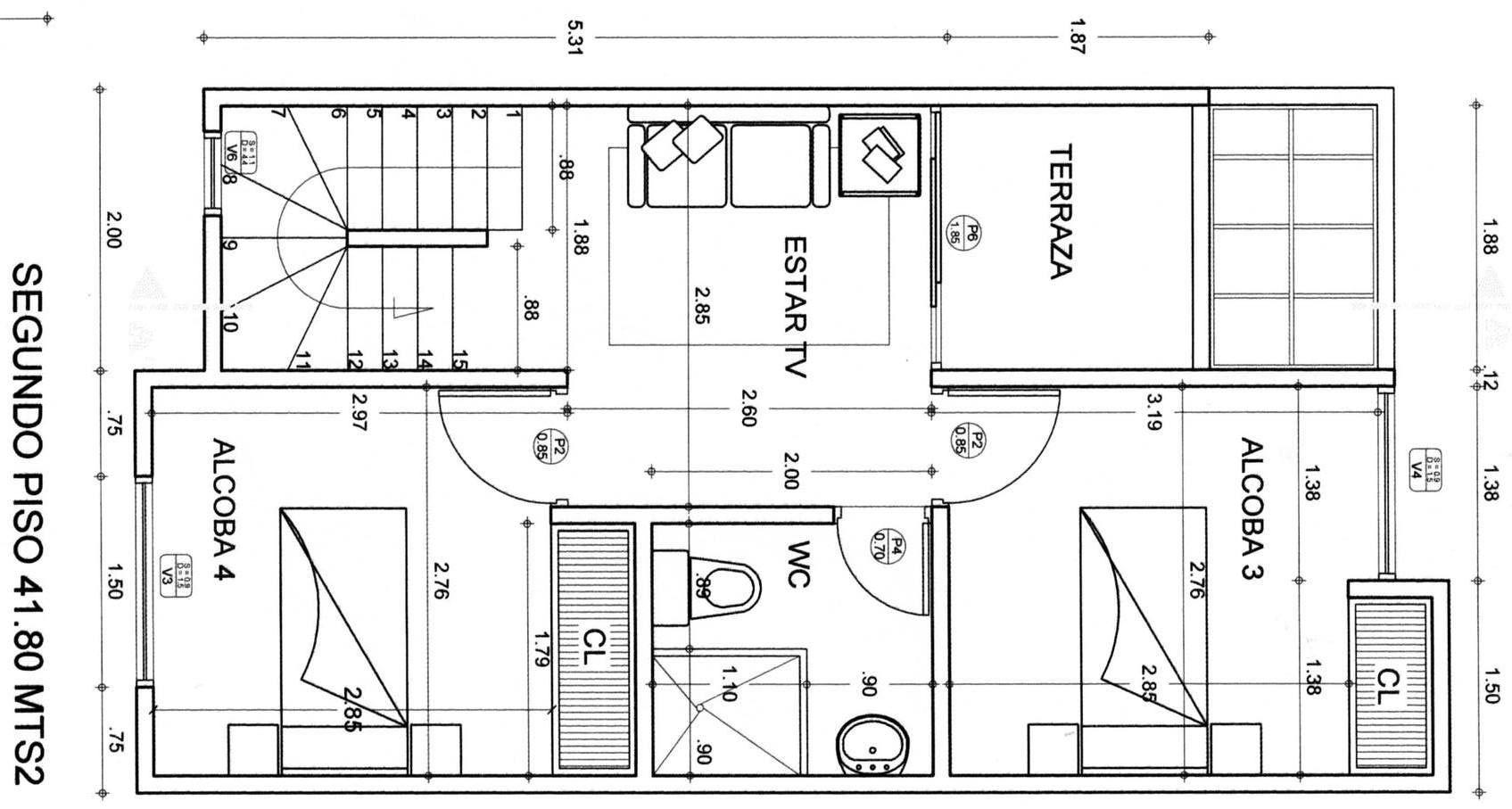 Planos arquitectonicos gratis buscar con google diana for Planos gratis
