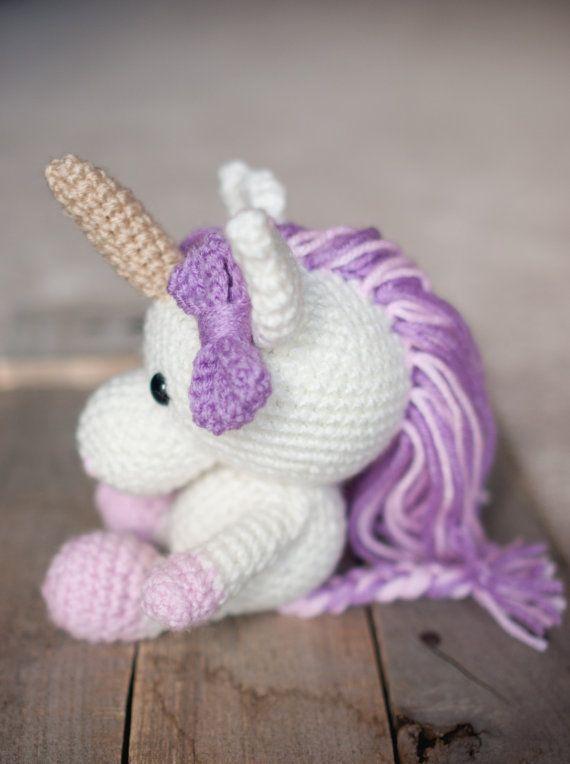 PATTERN: Udele the Unicorn - Crochet unicorn pattern ...