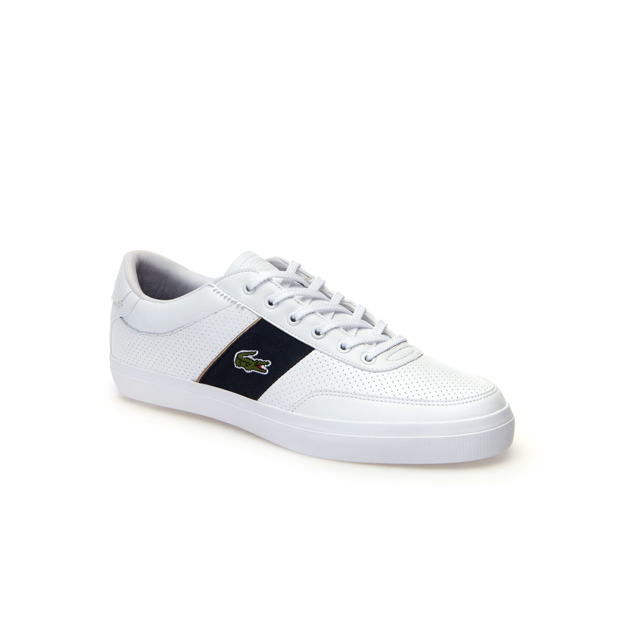 a6beac791d3966 LACOSTE MEN S COURT-MASTER NAPPA LEATHER TRAINERS.  lacoste  shoes ...