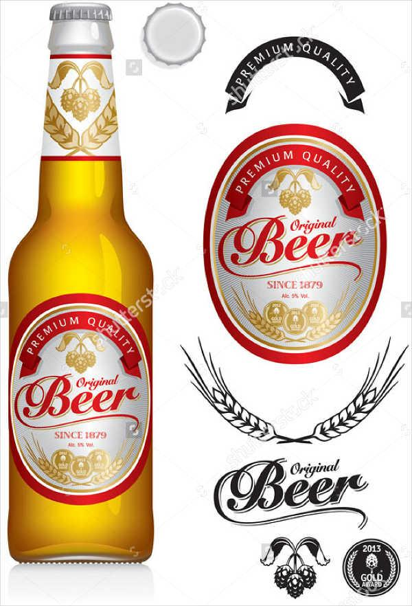 Making A Professionally Looking Homebrew Label For Cheap Homebrew Academy Beer Bottle Labels Template Beer Beer Label