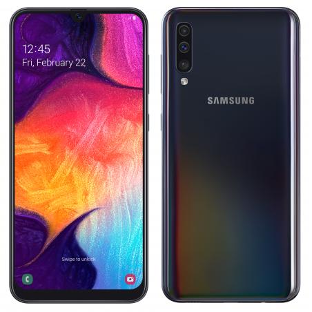 Samsung Galaxy A50 Couleur Noir Smartphone Samsung
