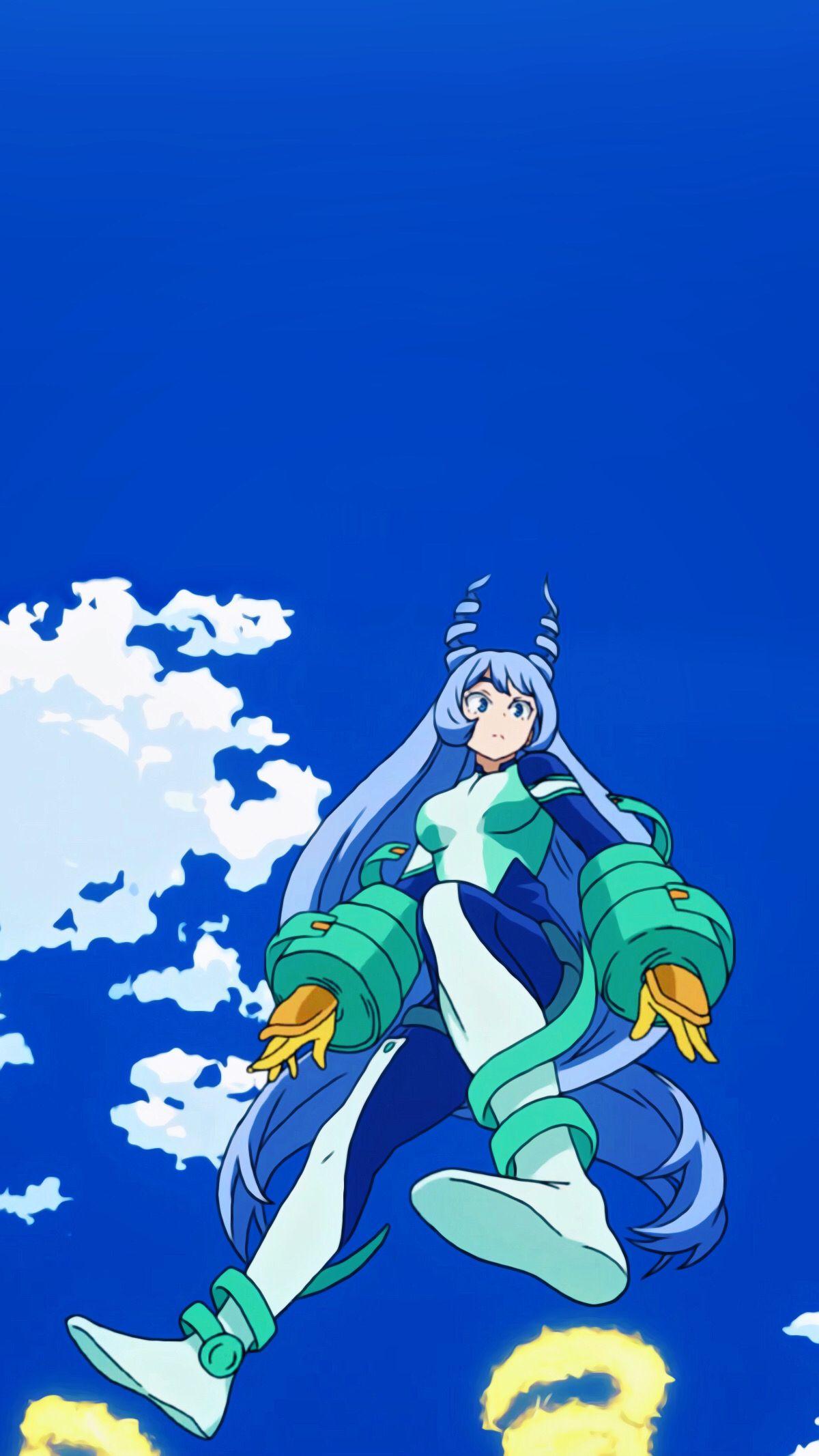 Nejire Hado Aesthetic Wallpaper Anime Character Drawing Kawaii Anime Hero Academia Characters