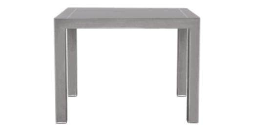 Vierkante Uitschuifbare Eettafel.Bramante Vierkante Uitschuifbare Eettafel In Grijs