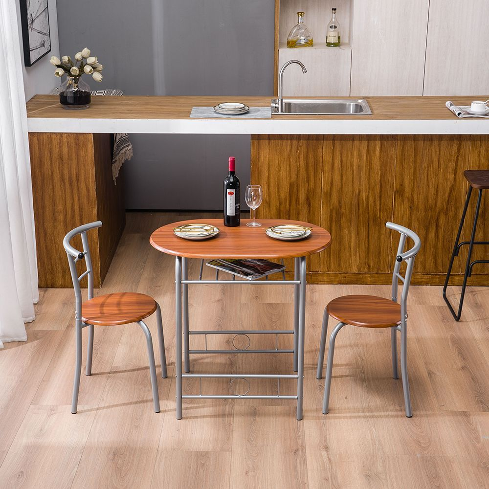 3 Piece Dining Room Table Sets Modern Kitchen Table And Chairs
