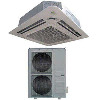 48000 Btu 16kw Super Slim Dc Inverter Round Flow Ceiling Cassette Air Conditioner 4 Way Round Flow Air Condit Air Conditioning Unit Air Conditioner Heat Pump