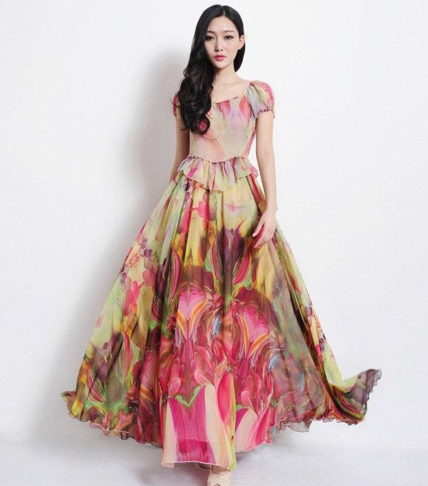 Floral Aline Dress