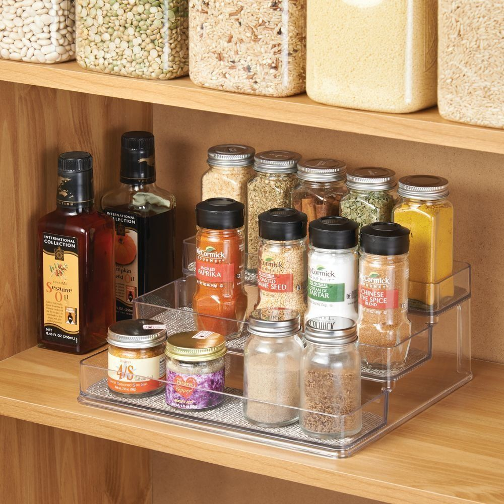 Interdesign Twillo E Rack Organizer For Kitchen Pantry Cabinet