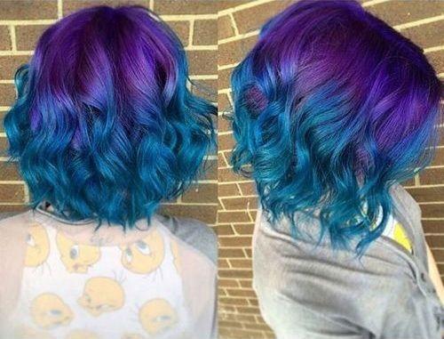 Nice 20 Fairy Like Blau Ombre Frisuren Hair Blue Ombre Hair
