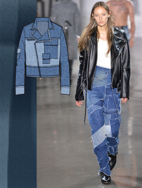 See the new forecasting fashion trends about Survivalist SS17 | Development| Denim, Denim & Garment Dyed with 5forecastore.