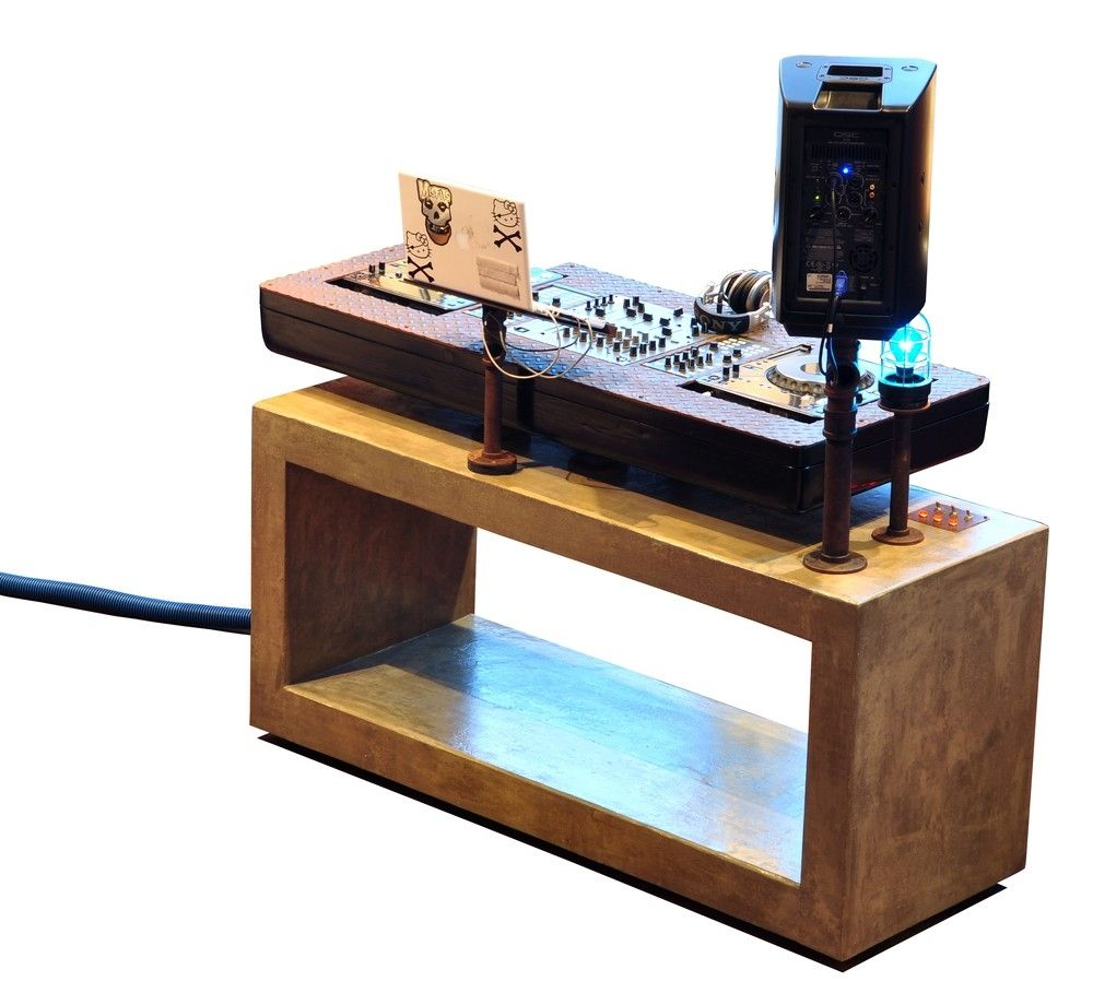 Hand Made Lynn Dj Console by Trevor O'Neil Design | CustomMade.com