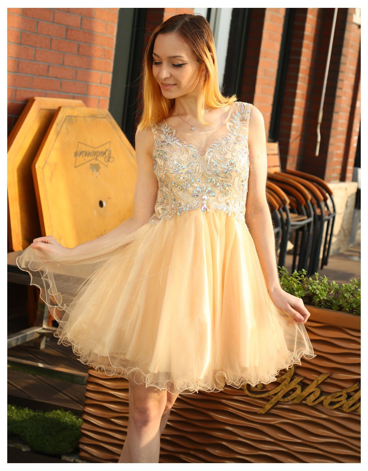 Belle house womens short prom gowns semi formal homecoming dress