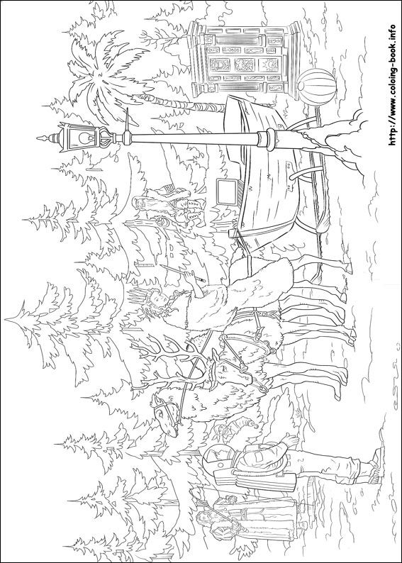 The chronicles of Narnia coloring picture | От Нарнии до Переландры ...