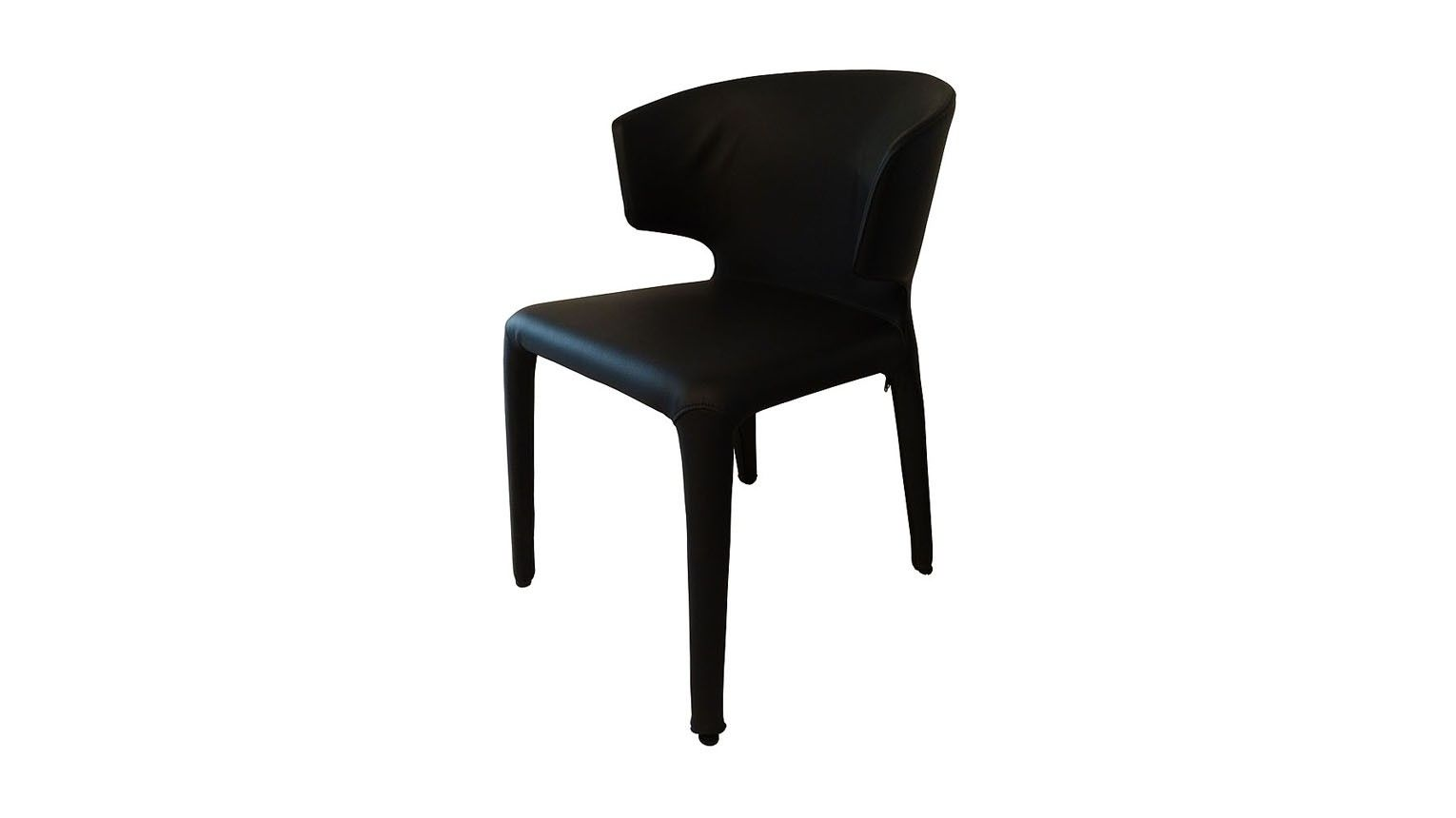 Zuster Husk Leather Wrap Chair