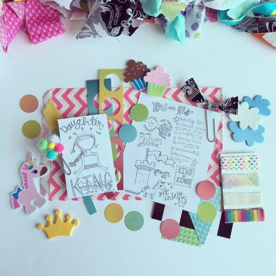 Daughter of the King Mini Bible Journaling Kit by apileofAshes