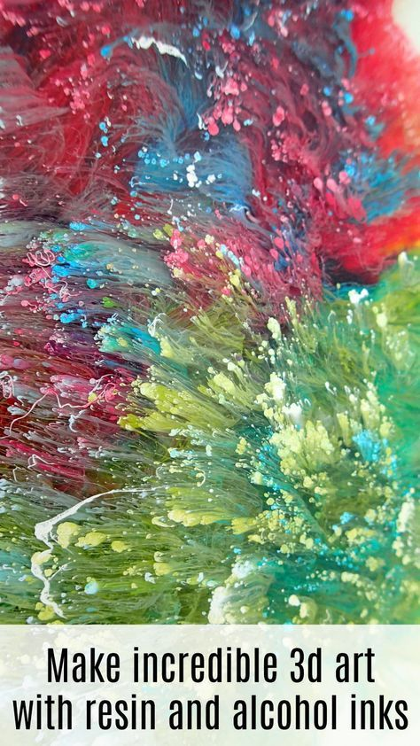 Popular Easy peasy and quick way to make amazing 3d art using resin and alcohol inks Step by step video shows you how and everything you need to know for … For Your Plan - Model Of easy paintings Fresh