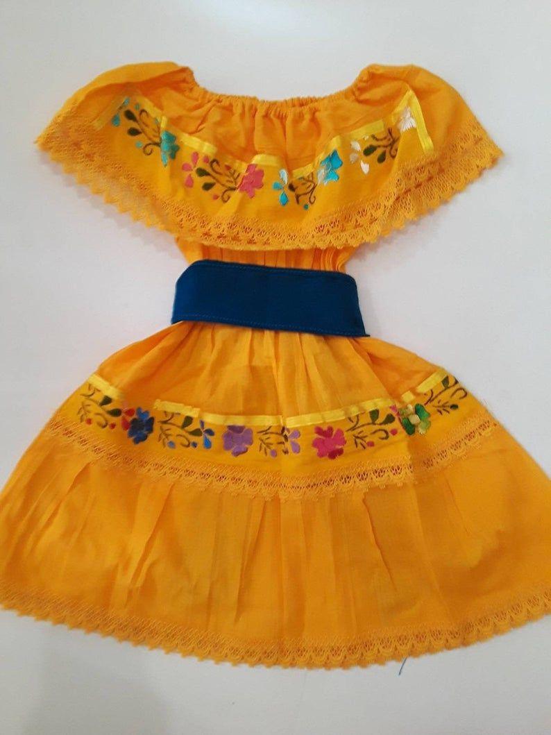 Beautiful Black Toddler Dress Mexican Fiesta Dress With Etsy Mexican Dresses Mexican Fiesta Dresses Yellow Toddler Dress [ 1059 x 794 Pixel ]