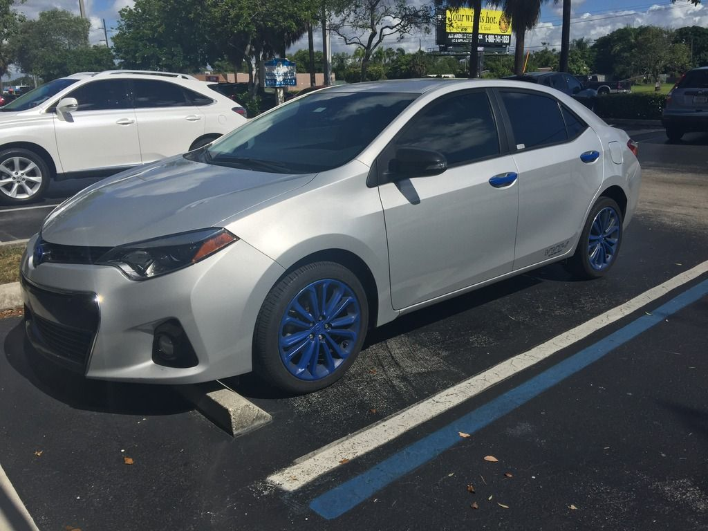 Post Pics Of Your 2014 Corolla Im Toyota Nation Forum Toyota Car And Truck Forums Corolla Toyota Corolla Toyota Cars