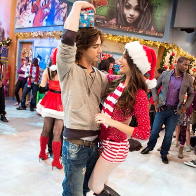 "Victorious on Instagram: ""Merry Christmas from Beck & Tori"