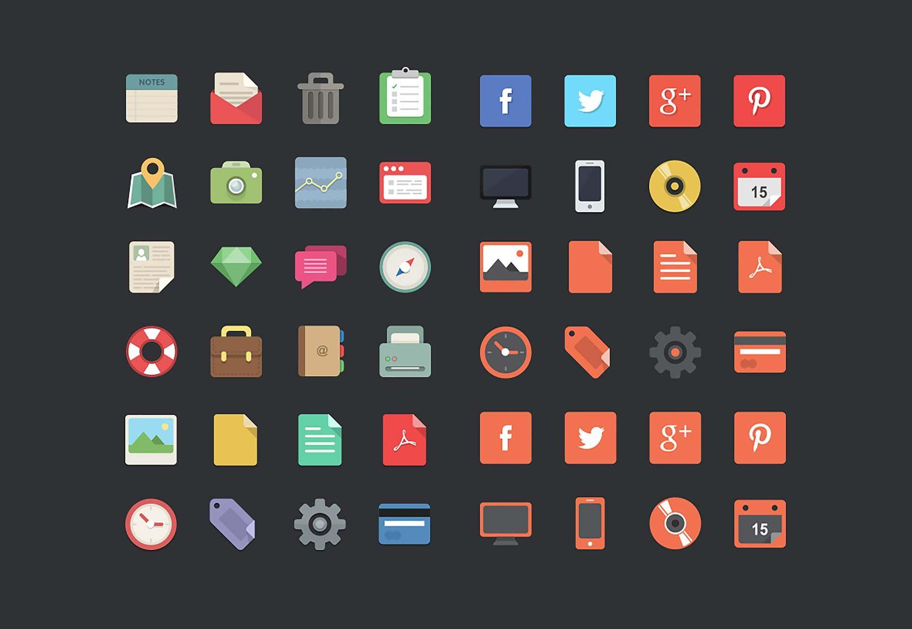 40 best free icon sets, Spring 2015 Icon set, Icon