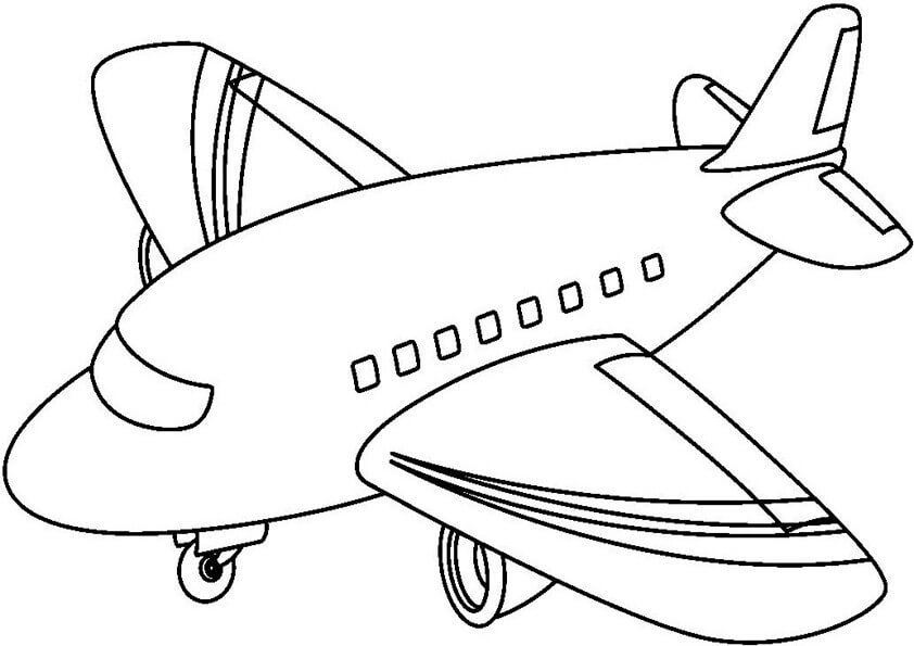 Dibujos De Aviones Para Colorear Dibujos Para Colorear Coloreartv Com En 2020 Dibujos De Autos Medios De Transporte Transporte