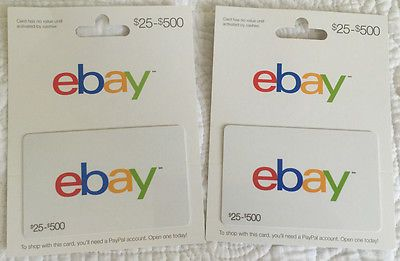 $500 eBay Gift Card | Gift cards, Cards and Free gift cards
