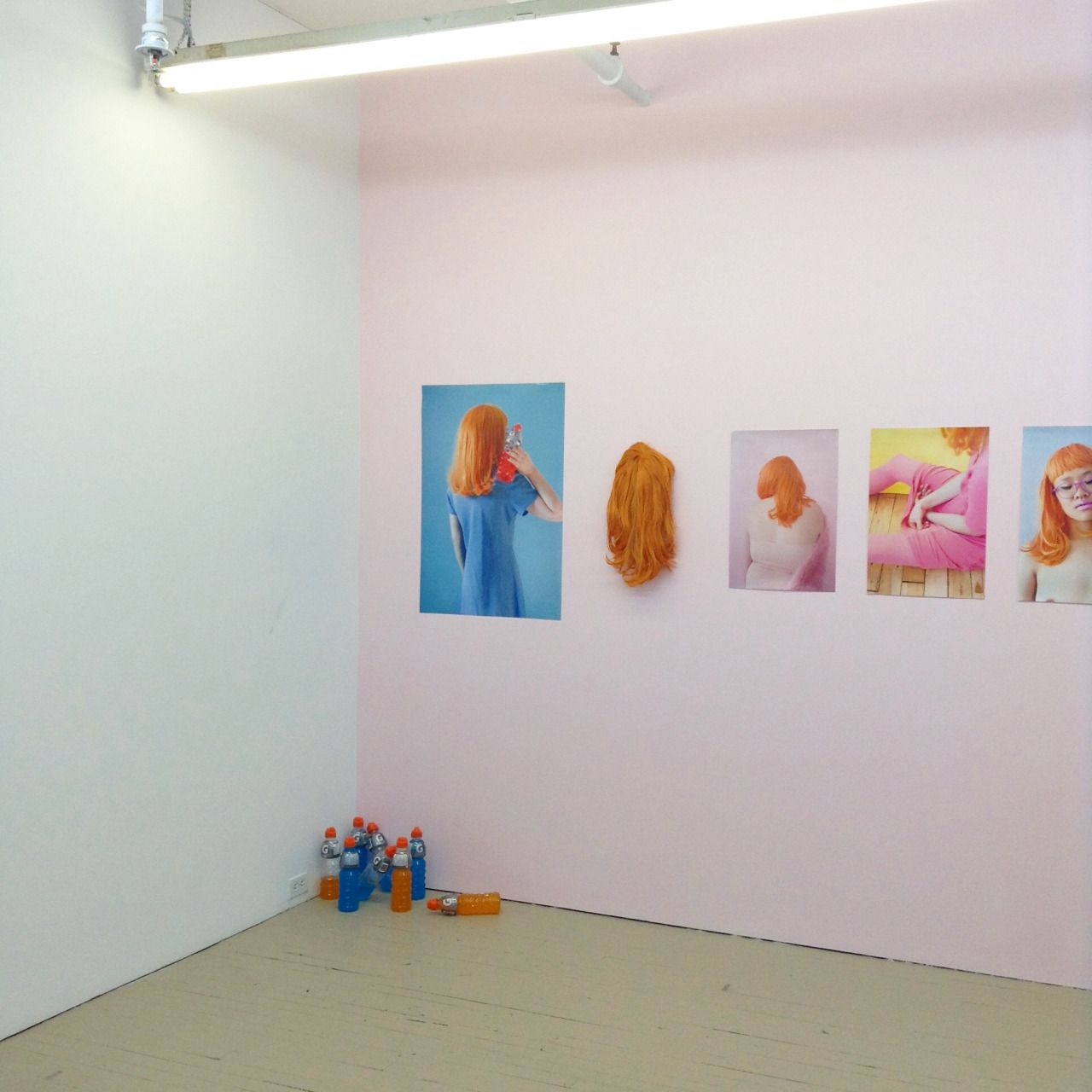 "laurencephilomene-photo: "" Installing art matters group show We, ""Others"" today // installation by Laurence Philomene """