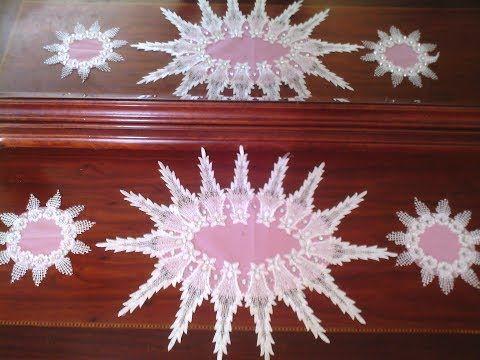 جديد نابرونات للعرايس خطوات سهلة لصنع نابروات بغالون الدنتيل اعمال فنية و اشغال يدوية H Crochet Flowers Christmas Tree Skirt Holiday Decor