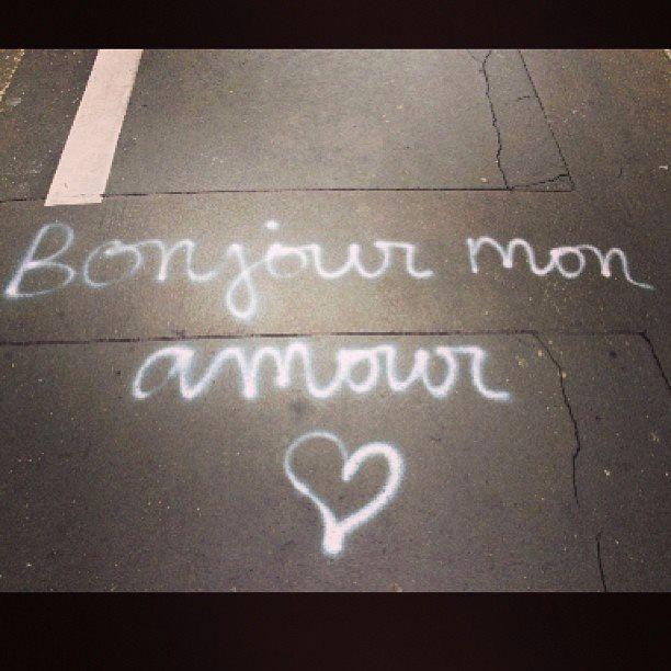 Bonjour mon amour  Hello Love