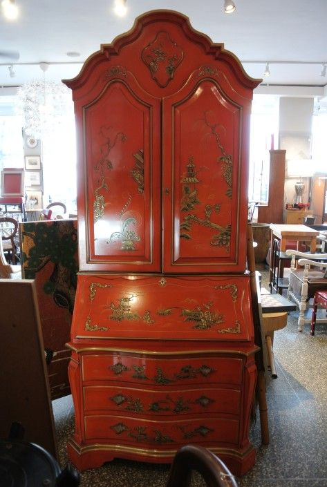 Italian Rococo Kargas Secretary 995 From Miss Pixies Of 14th Street Washington Dc Attic Rococo Vintage Furniture Ruby Room