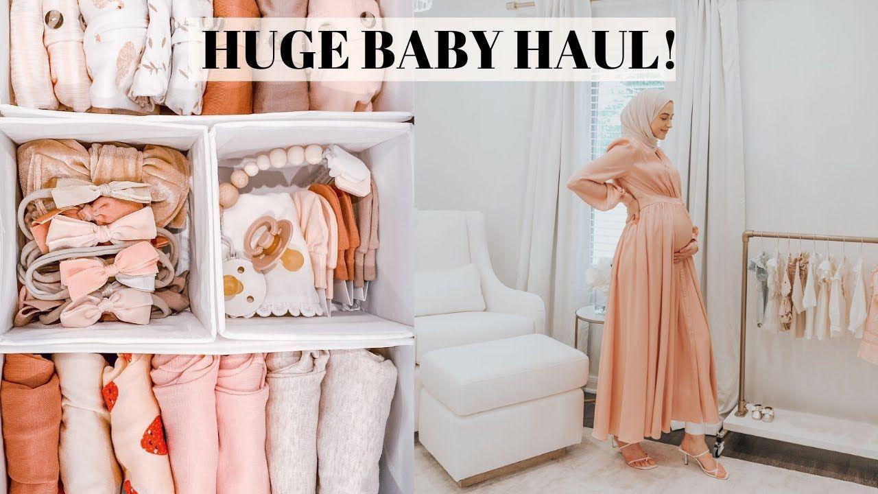 HUGE Newborn Baby Haul! Everything I