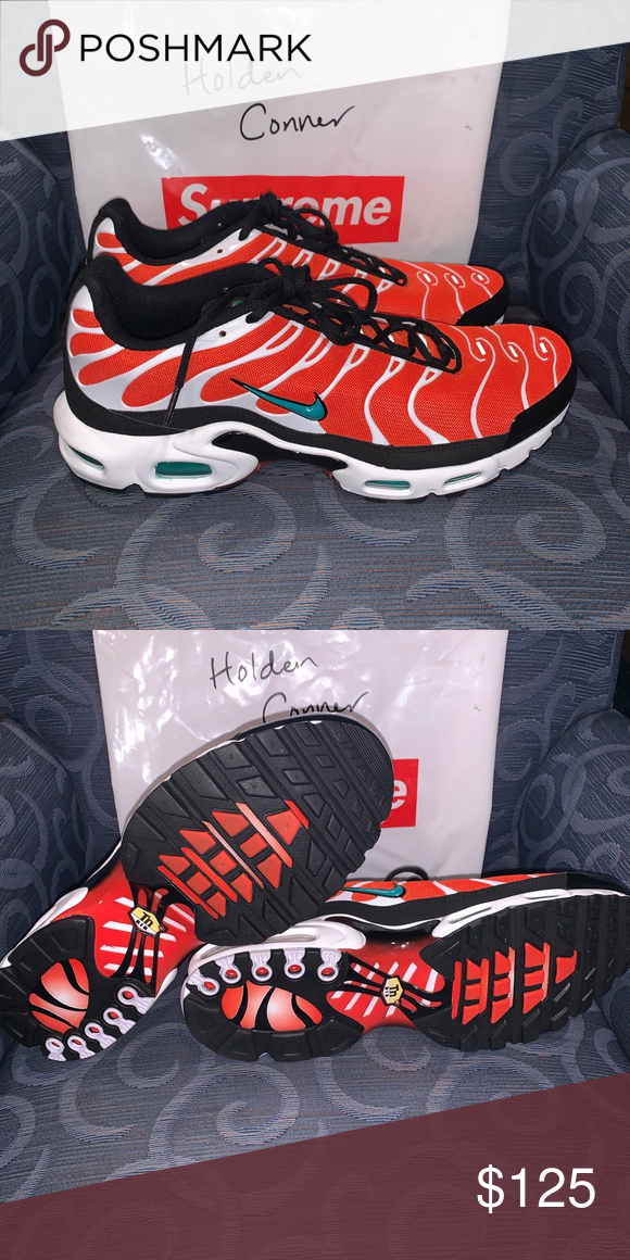 "sneakers for cheap 4f550 0cbbc Nike Air Max Plus Tn ""Miami Dolphins"" Size 13 Brand new air ..."
