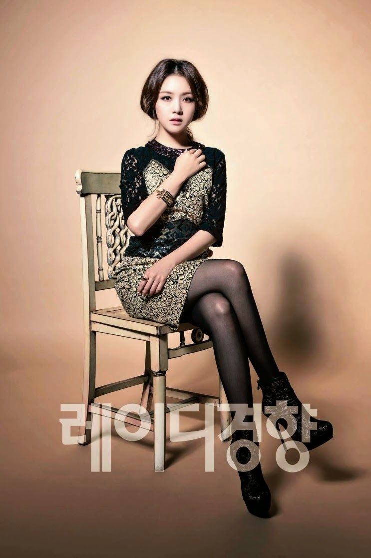 Minah and Hyeri Girl's Day - Lady Kyunghyang Magazine November Issue 2014