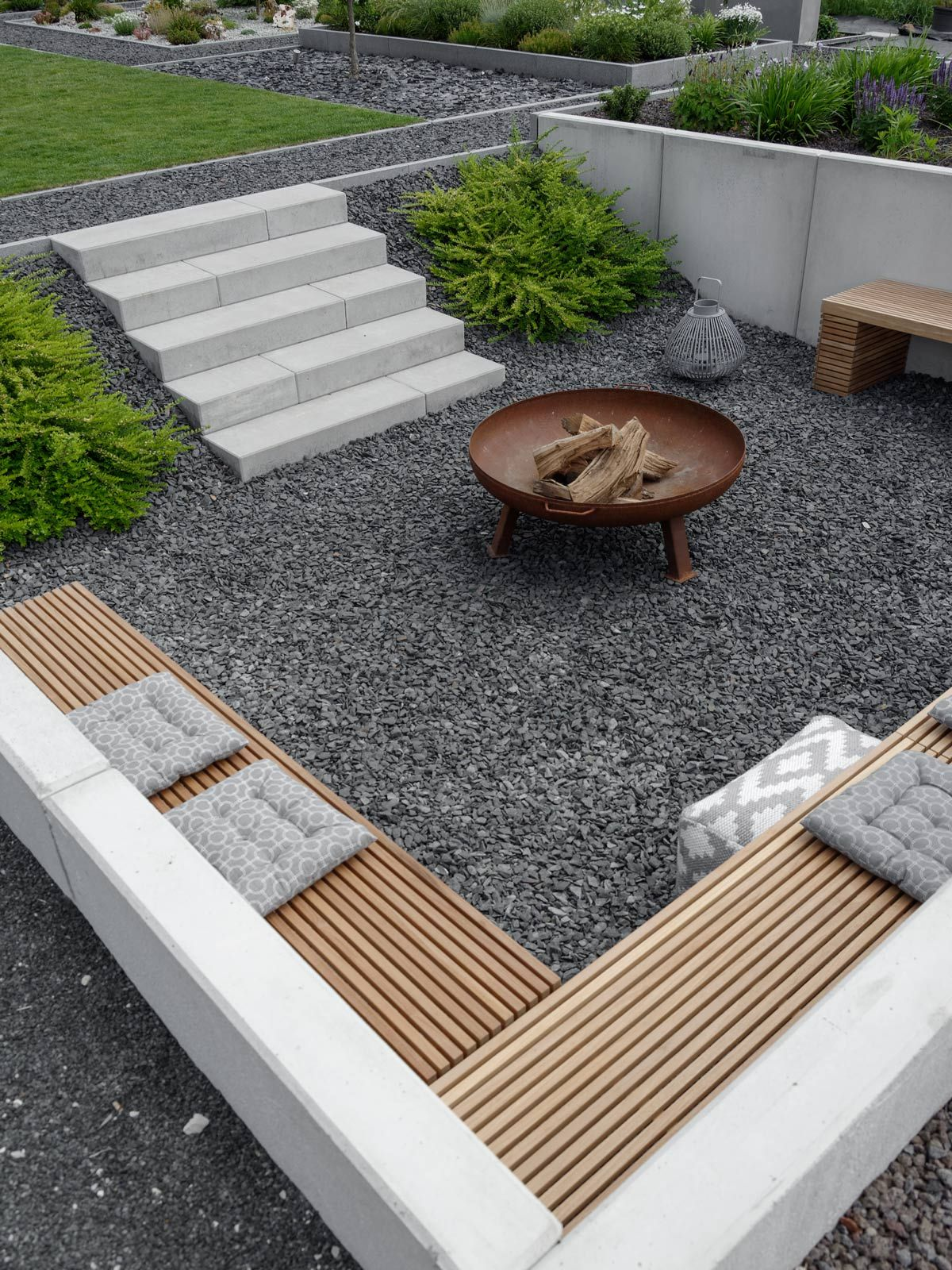 Feuerstelle Für Garten Garten Deck And Patio Pinterest Garden Garden Landscaping