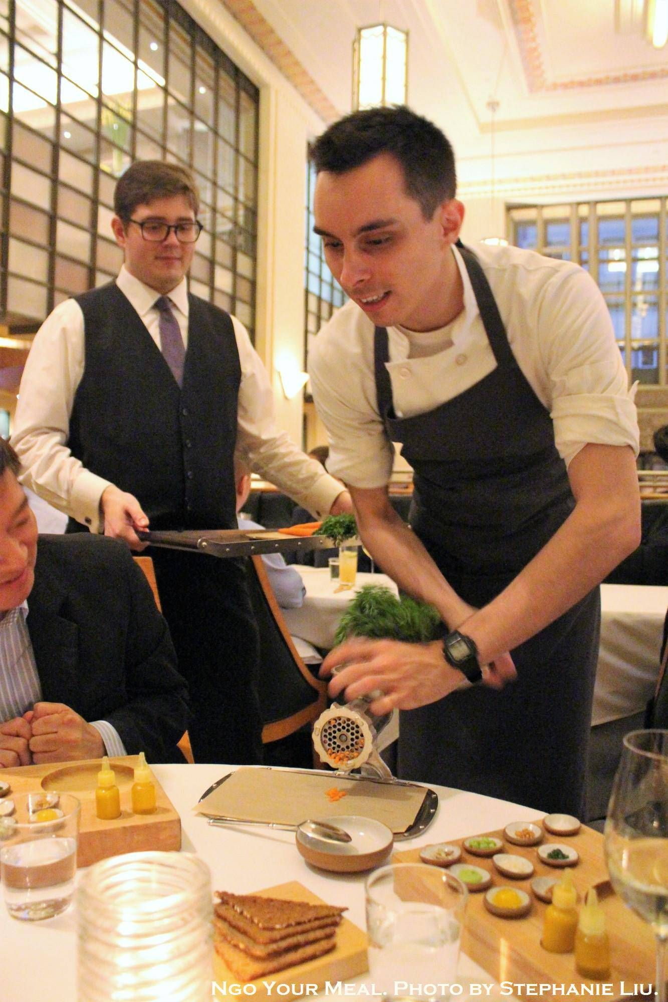 Food · Preparing the food at Eleven Madison Park in ...