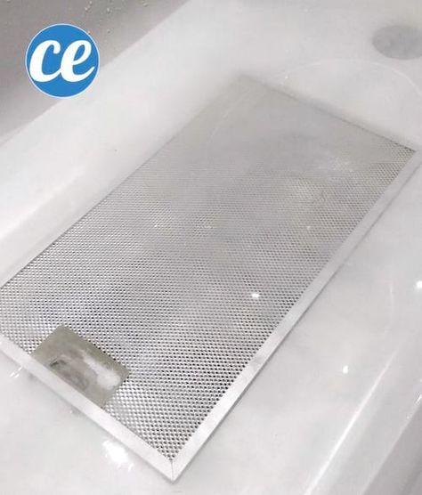 comment nettoyer le filtre de la hotte aspirante avec du. Black Bedroom Furniture Sets. Home Design Ideas